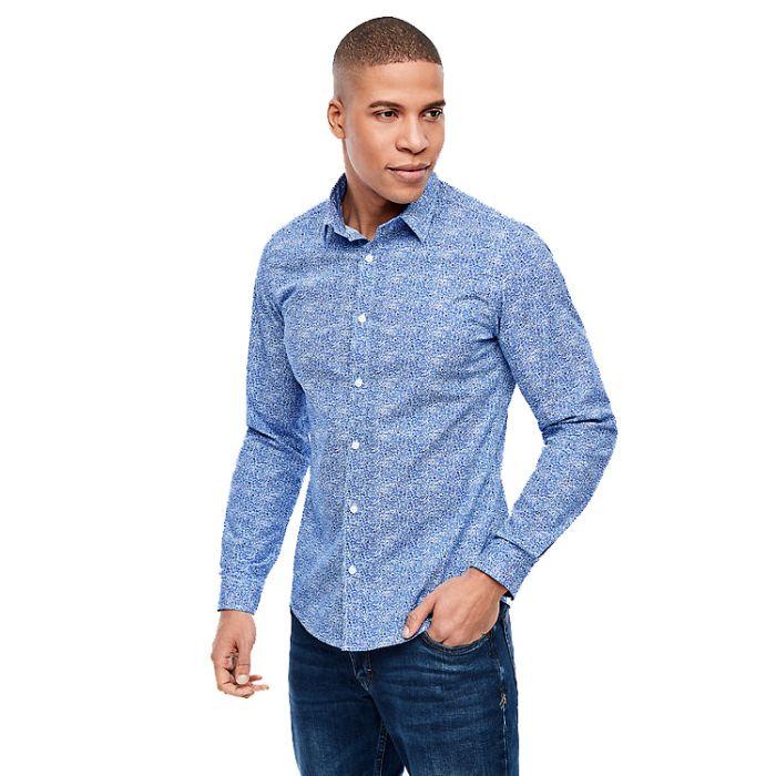 S'Oliver πουκάμισο σταμπωτό 2037912