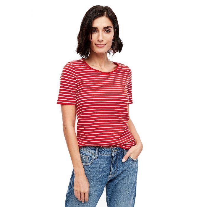 S'Oliver t-shirt κοντομάνικο με ρίγες 04.899.32.6022