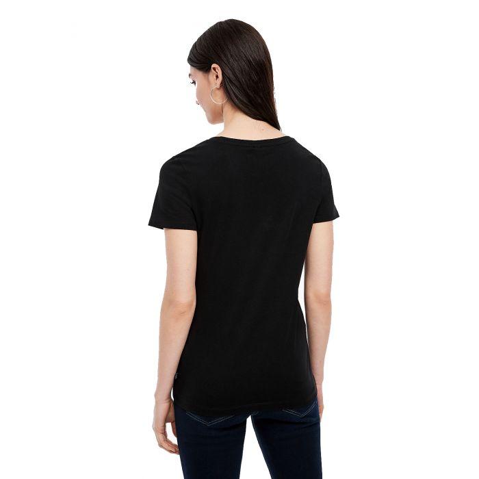 S'Oliver t-shirt κοντομάνικο V λαιμόκοψη 2005749 2005749