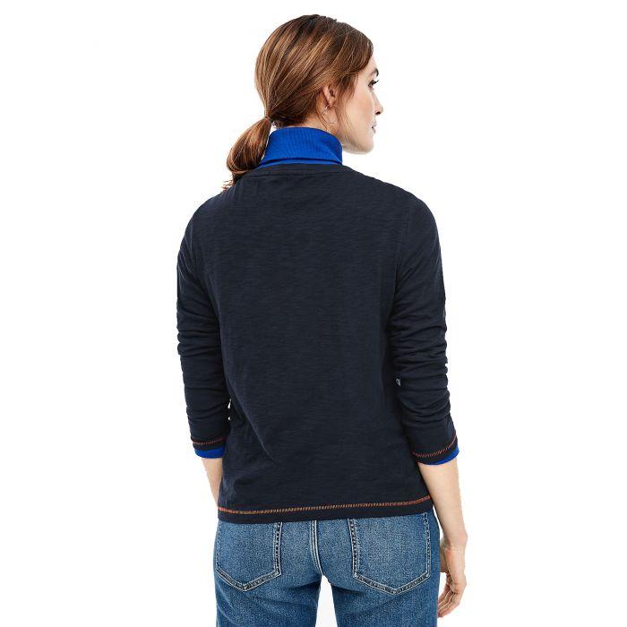 S'Oliver μπλούζα μακρυμάνικη με τύπωμα 2036511