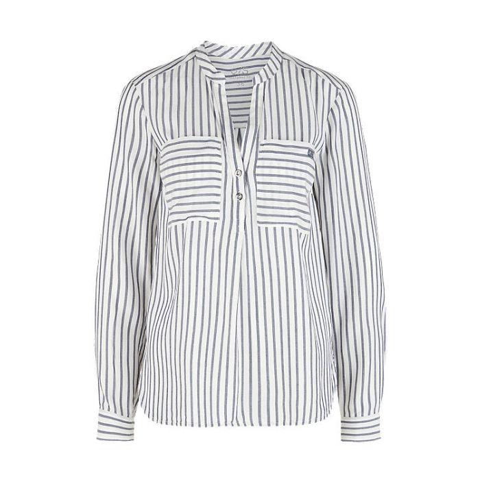 S'Oliver μπλούζα μακρυμάνικη ριγέ 2005619