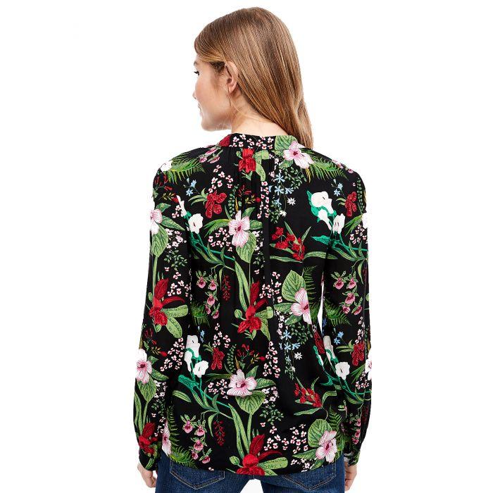 S'Oliver μπλούζα μακρυμάνικη floral 2005922