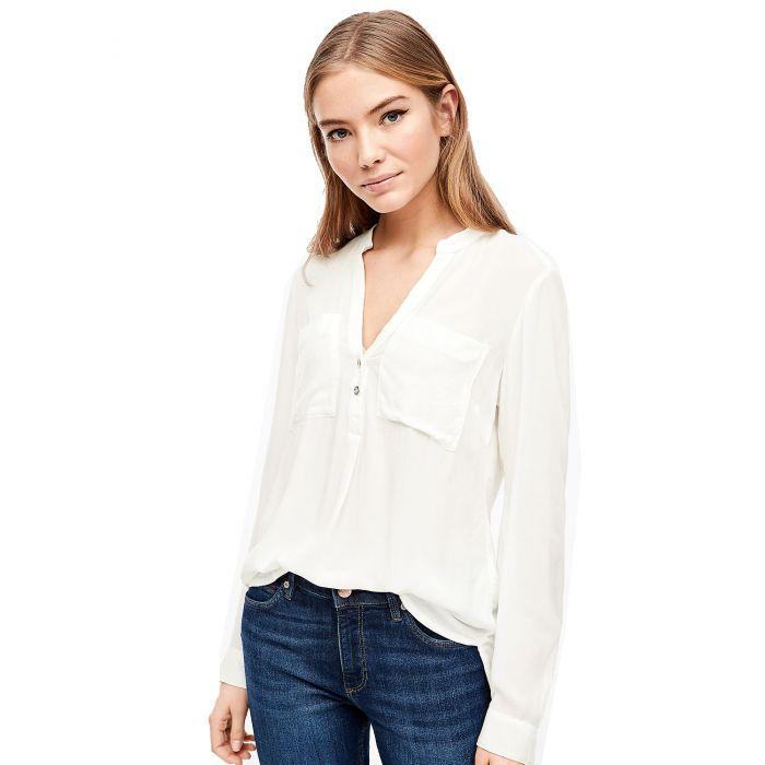 S'Oliver μπλούζα με V ντεκολτέ 2036678