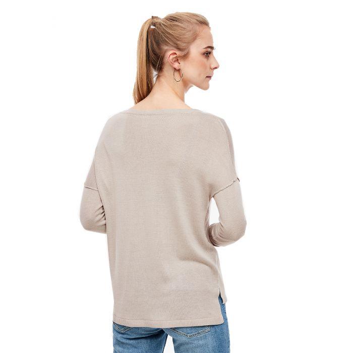 S'Oliver μπλούζα πλεκτή μακρυμάνικη 2037824