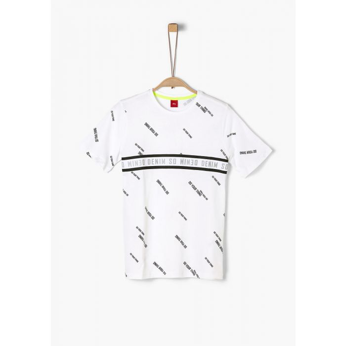 S'Oliver t-shirt σταμπωτό 2022859