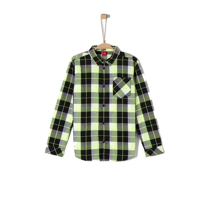 S'Oliver πουκάμισο καρό 2019663