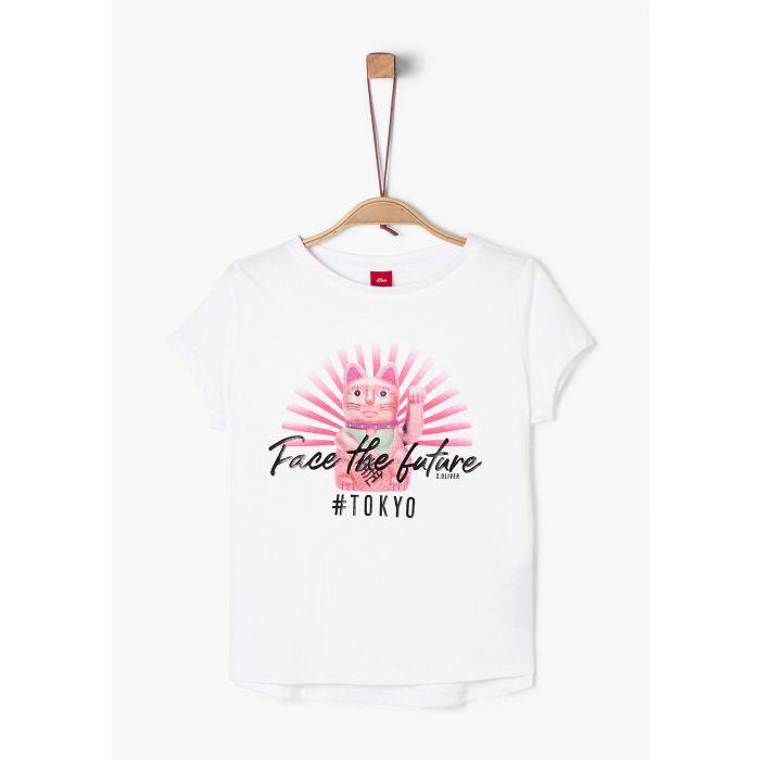 S'Oliver t-shirt κοντομάνικο με τύπωμα 2022498