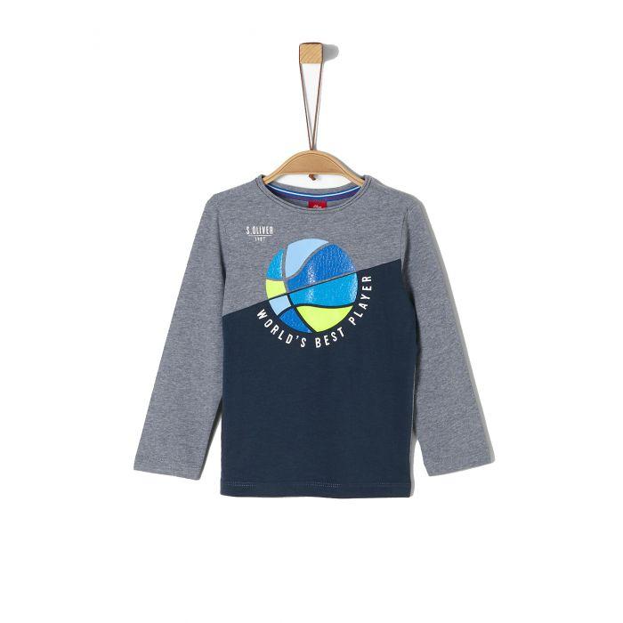 S'Oliver μπλούζα μακρυμάνικη 2021498