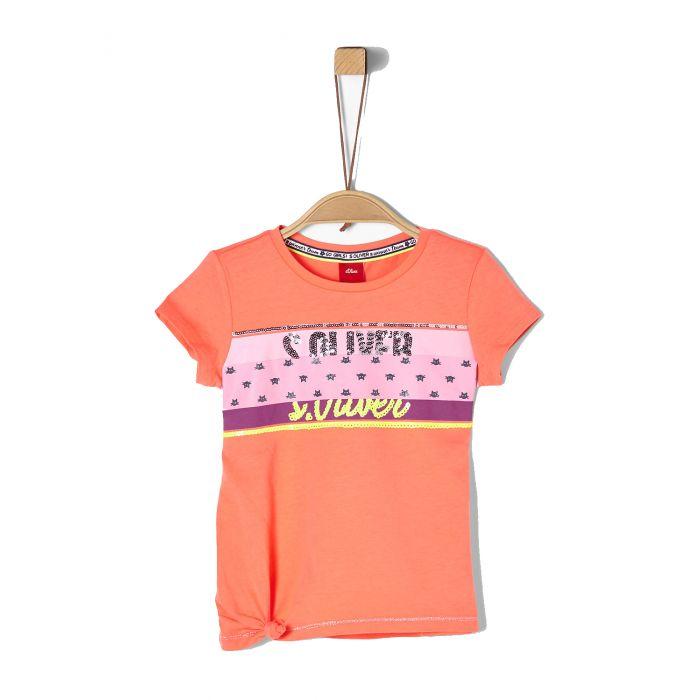 S'Oliver t-shirt με παγιέτες 2020286