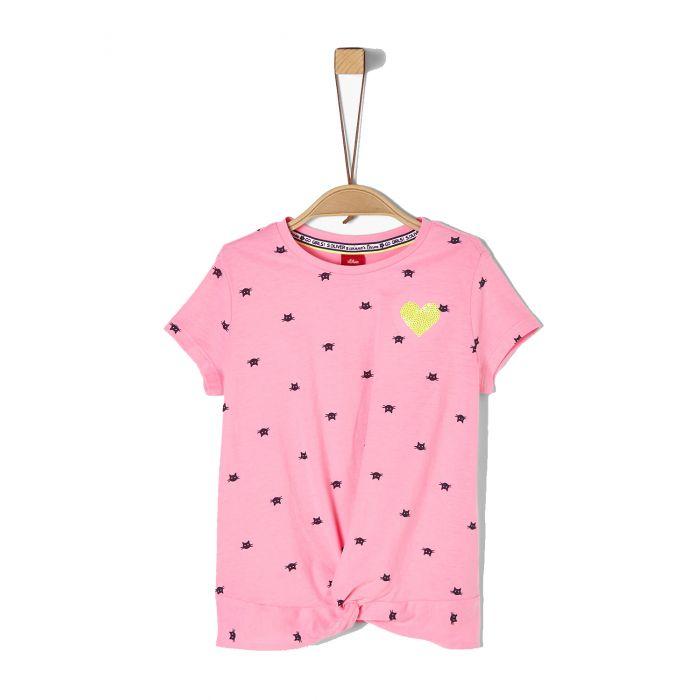 S'Oliver t-shirt σταμπωτό 2020480