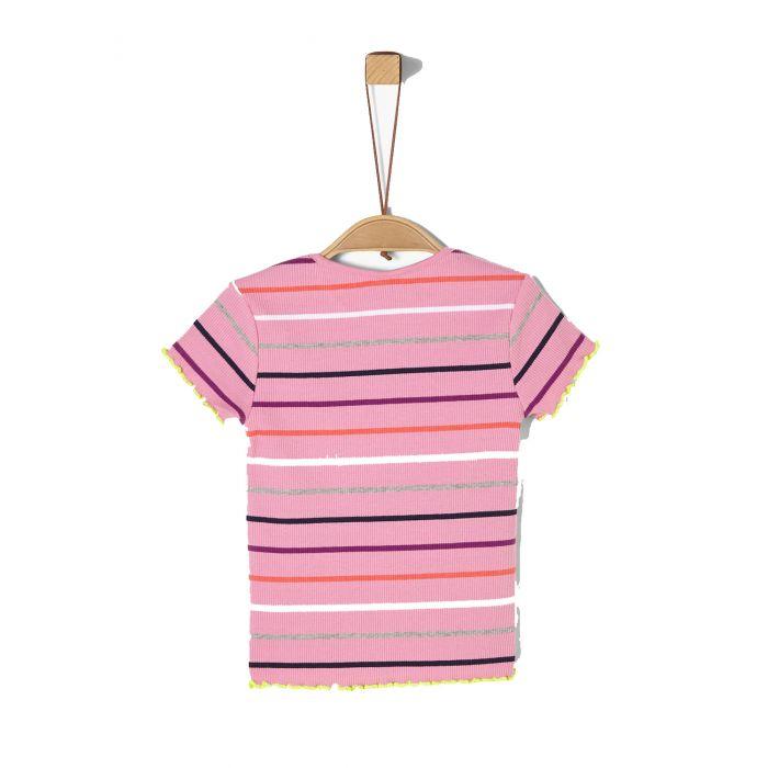 S'Oliver μπλούζα κοντομάνικη ριγέ 2021364