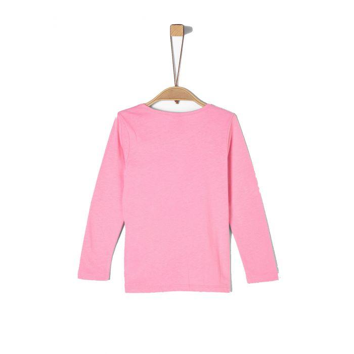 S'Oliver μπλούζα μακρυμάνικη με τύπωμα 2022054