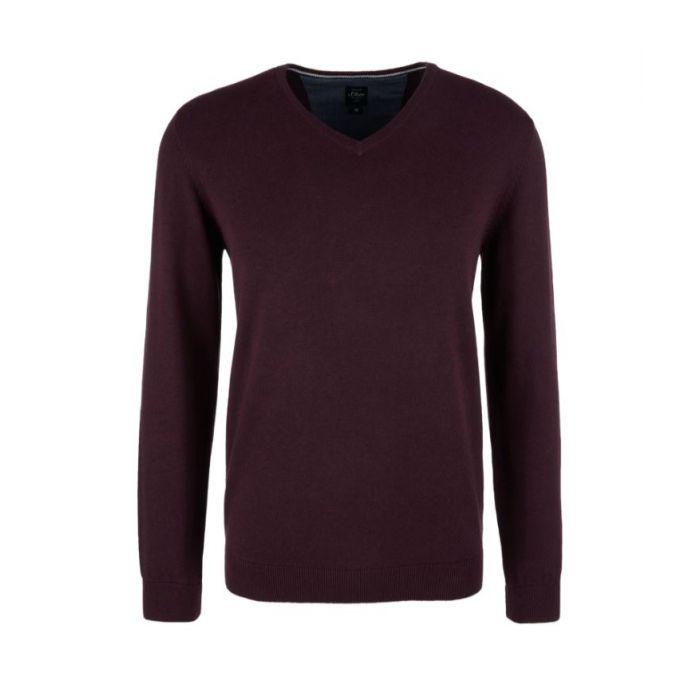 S'Oliver πλεκτή μπλούζα 2040666