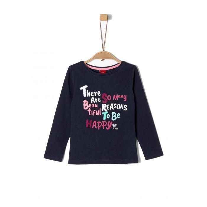 S'Oliver μπλούζα μακρυμάνικη 2056729