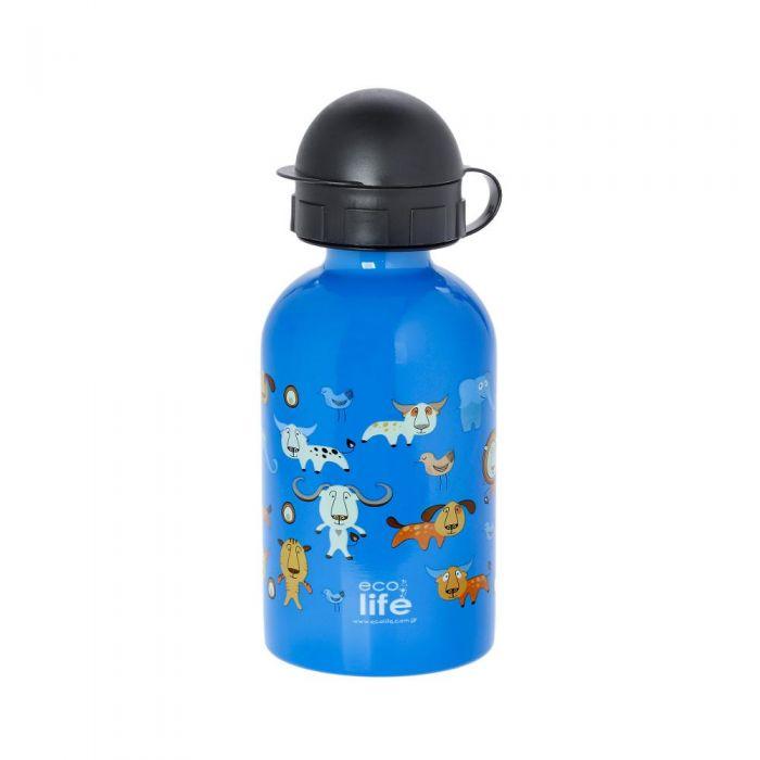 EcoLife Jungle μεταλλικό μπουκάλι 400ml 33-BO-1999