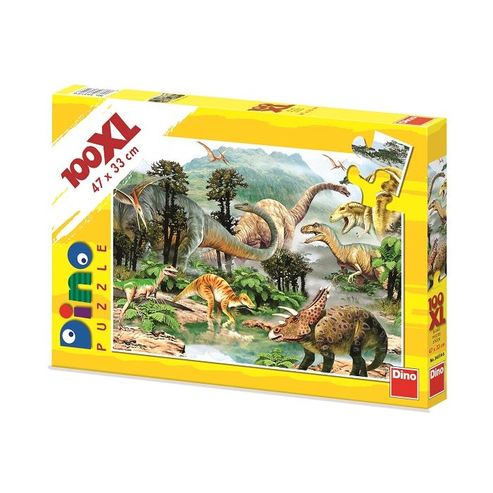 Dino Puzzle Δεινόσαυρος 100XL 34314