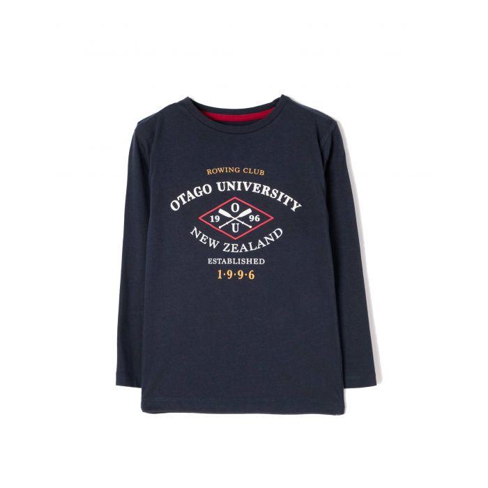 Zippy μπλούζα μακρυμάνικη με τύπωμα ZB0303-456-11