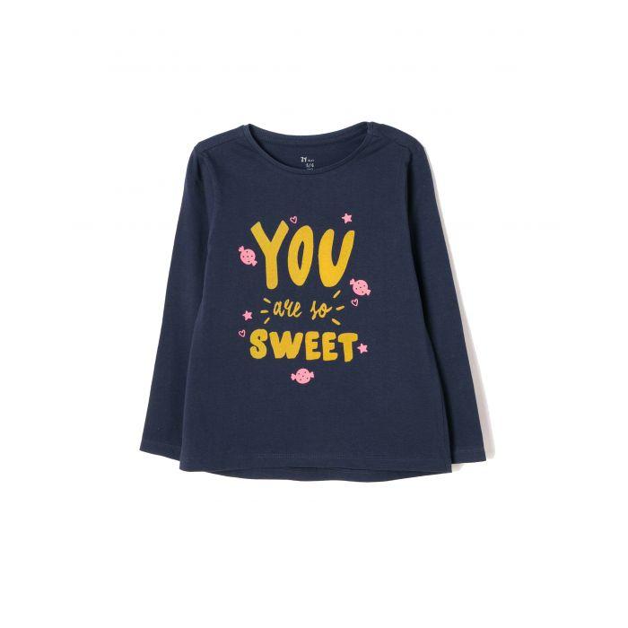 Zippy μπλούζα με τύπωμα ZG0303-456-12