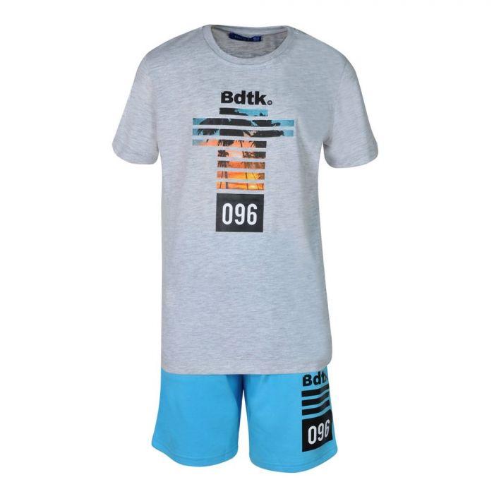 Bodytalk σετ t-shirt με βερμούδα 1201-754799-01
