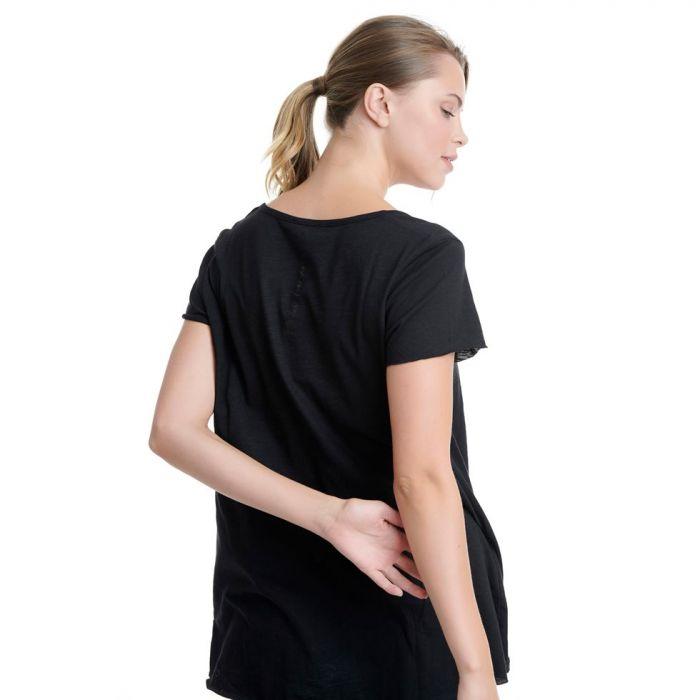 Bodytalk t-shirt ασύμμετρο 1201-903528
