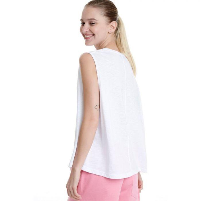 Bodytalk t-shirt αμάνικη με τύπωμα 1201-901323