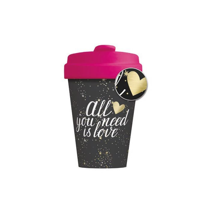 Chic-Mic BambooCup All you need is Love BCP300