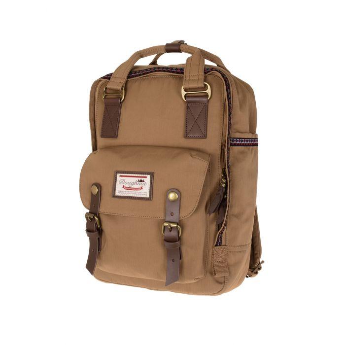 Doughnat Macaroon Bo-He Khaki τσάντα πλάτης 90576