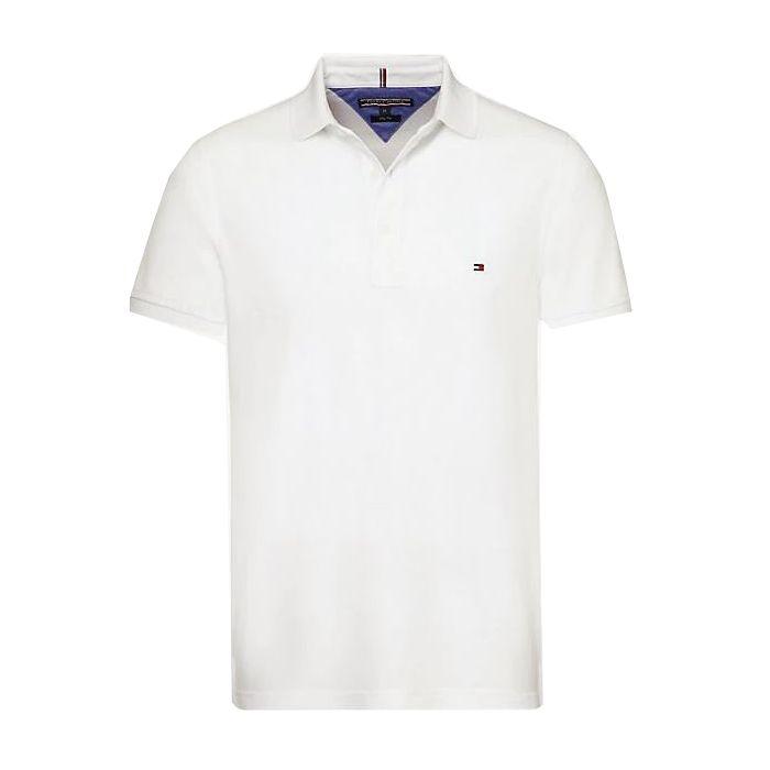 Tommy Hilfiger μπλούζα polo κοντομάνικη MW0MW04976