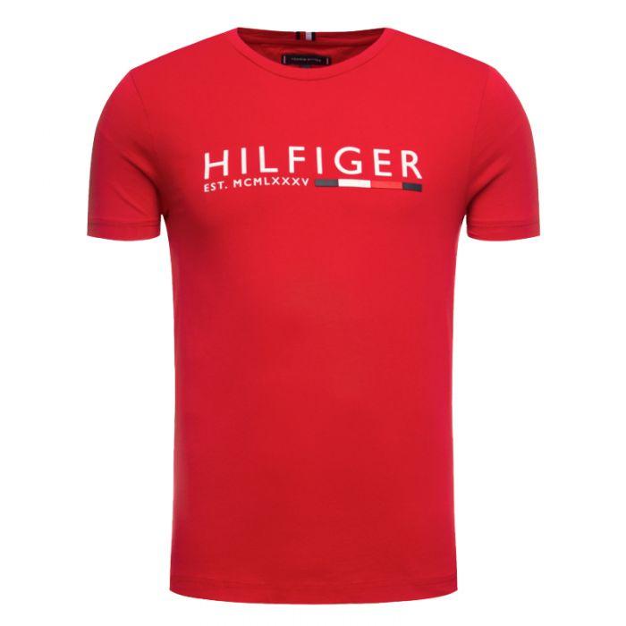Tommy Hilfiger t-shirt με λογότυπο MW0MW12531
