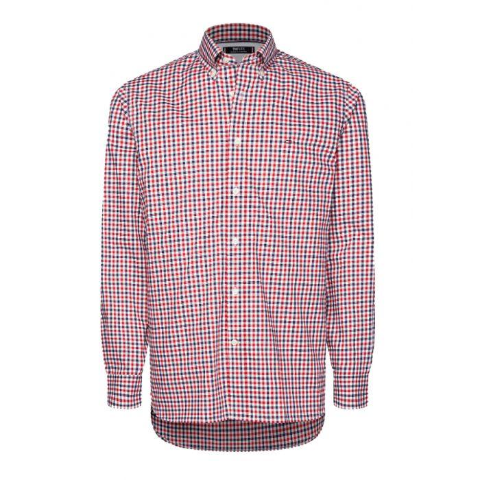 Tommy Hilfiger πουκάμισο καρό MW0MW12175