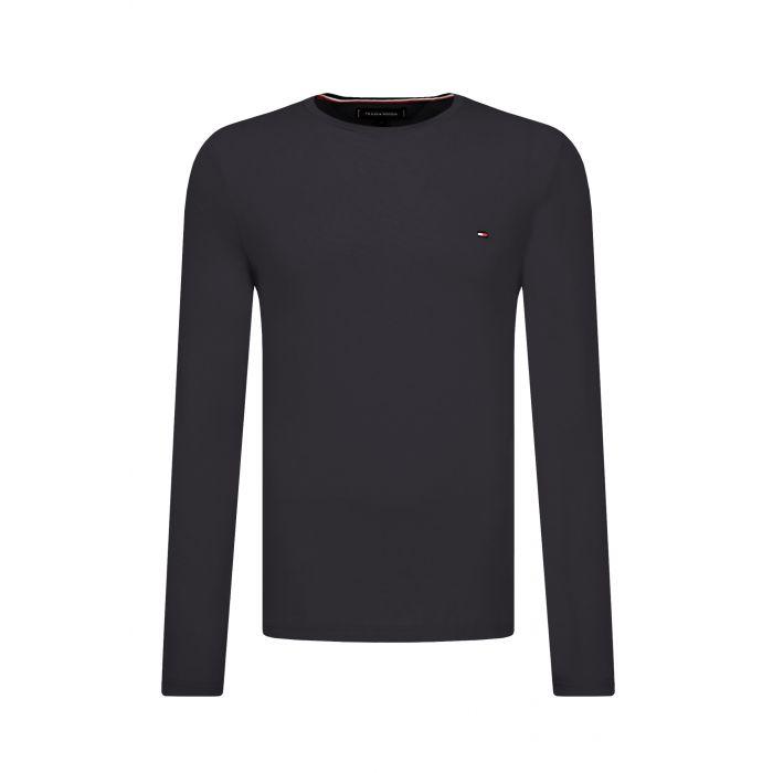 Tommy Hilfiger μπλούζα μακρυμάνικη slim fit MW0MW10804