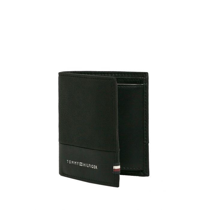 Tommy Hilfiger πορτοφόλι δερμάτινο τριπλό AM0AM05649