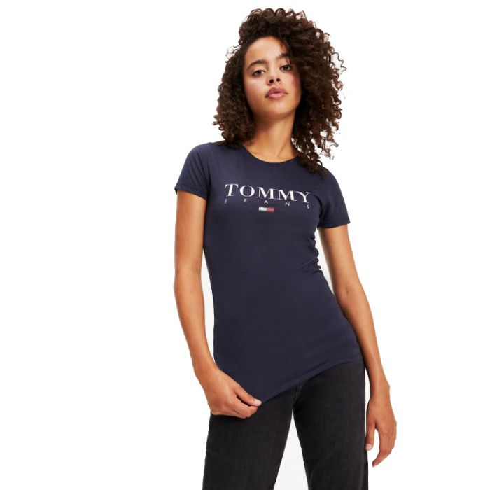 Tommy Hilfiger t-shirt με logo DW0DW07524