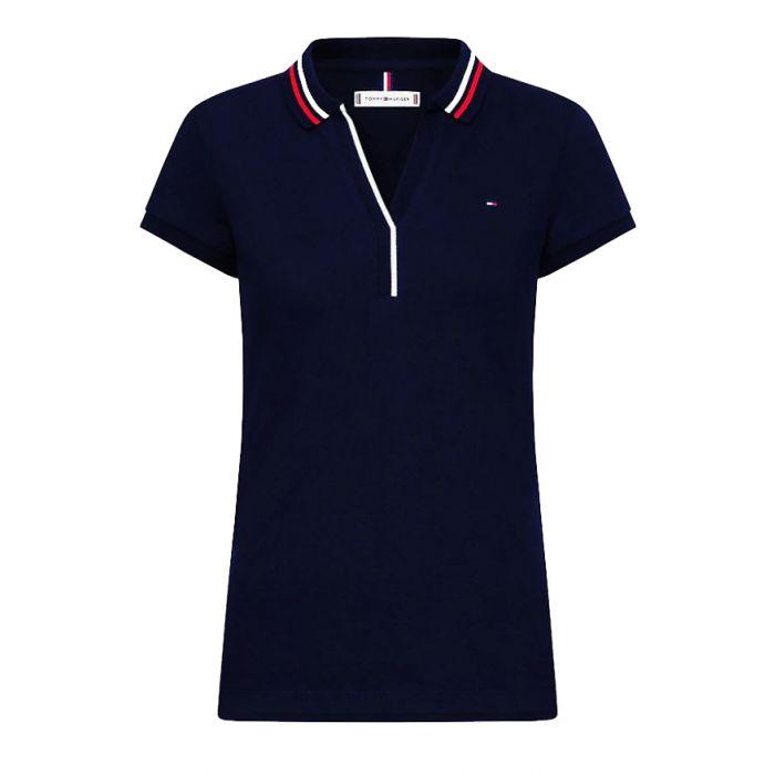 Tommy Hilfiger μπλούζα polo WW0WW27853
