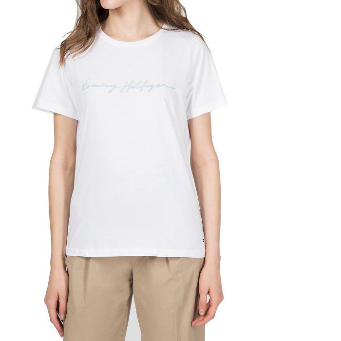 Tommy Hilfiger t-shirt κοντομάνικο WW0WW27136