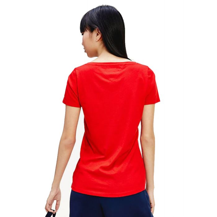 Tommy Hilfiger t-shirt με V λαιμόκοψη DW0DW08059
