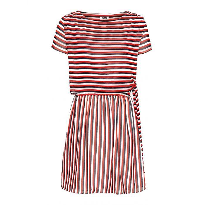 Tommy Hilfiger φόρεμα με ρίγες DW0DW07922