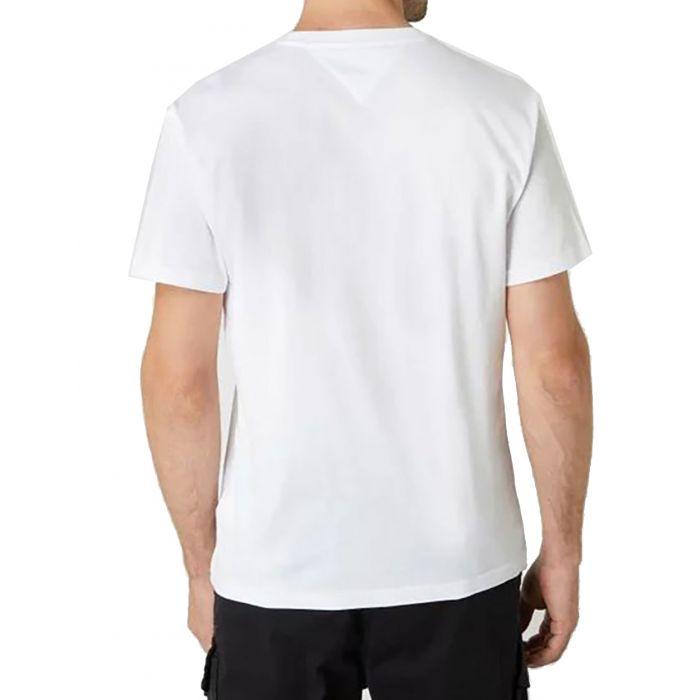 Tommy Hilfiger t-shirt με τύπωμα DM0DM08671