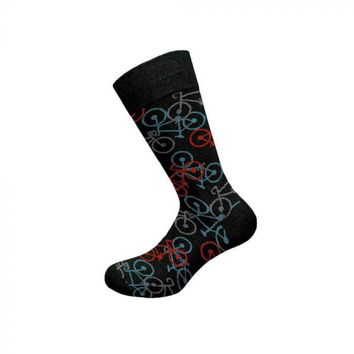 Walk κάλτσα ελαστική με σχέδιο W1064-10