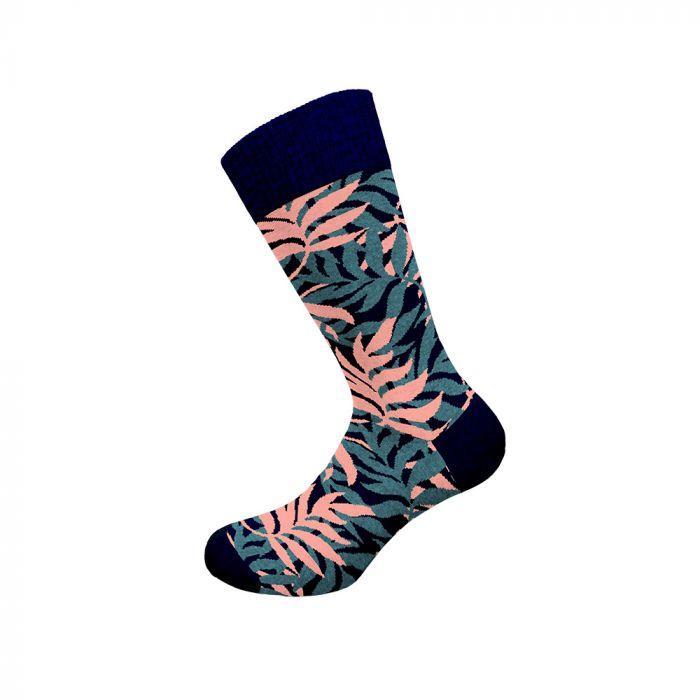 Walk κάλτσα ελαστική  με σχέδιο W1064-8