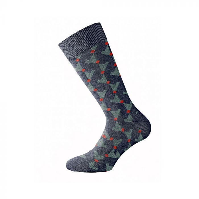 Walk κάλτσα ελαστική με σχέδιο W1064-9