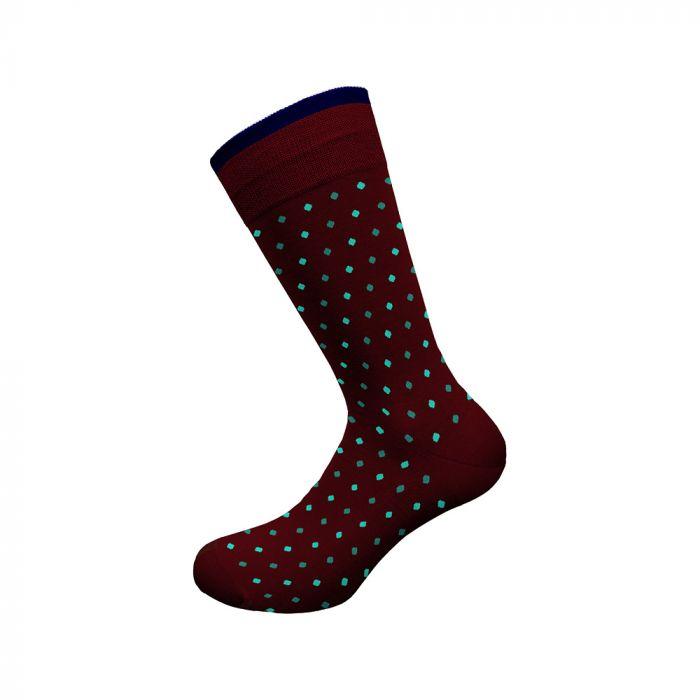 Walk κάλτσα βαμβακερή με σχέδιο W118-1