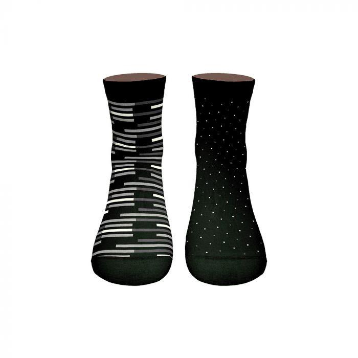Walk κάλτσα ημίκοντη σετ 2τμχ W1352-3