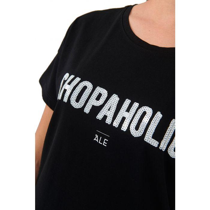 Ale t-shirt τύπωμα με παγιέτες 8912343