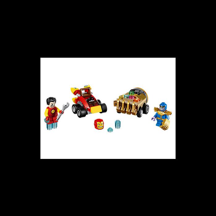 Lego 76072 Mighty Micros: Iron Man vs. Thanos 202230