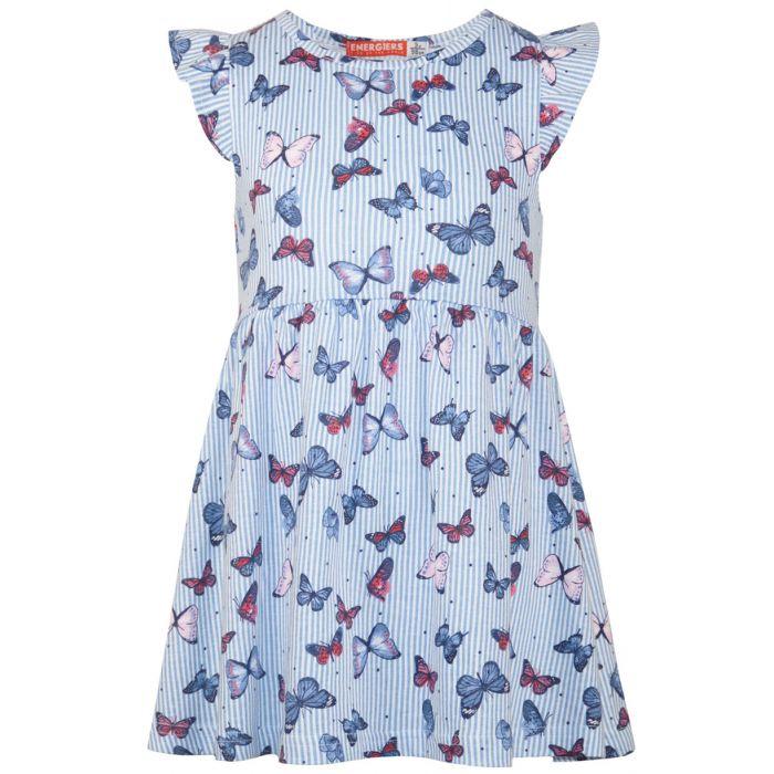 Energiers φόρεμα αμάνικο με πεταλούδες 15-220330-7