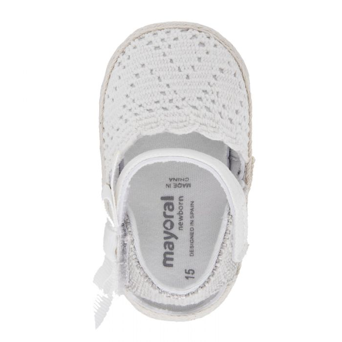 Mayoral Newborn παπούτσια εσπαντρίγιες 20-09291