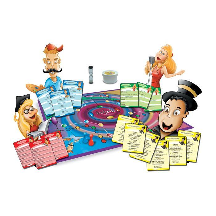 Ιδέα παιχνίδι επιτραπέζιο Total Mania Junior 14311