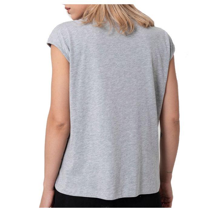 Helmi μπλούζα κοντομάνικη τύπωμα με παγιέτες 45-03-117