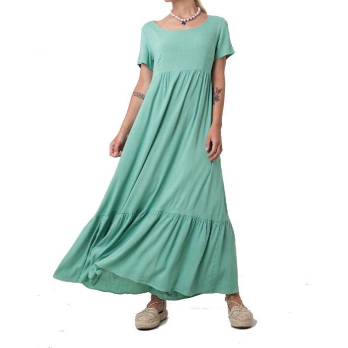 Helmi φόρεμα μακρύ κοντομάνικο 45-05-306